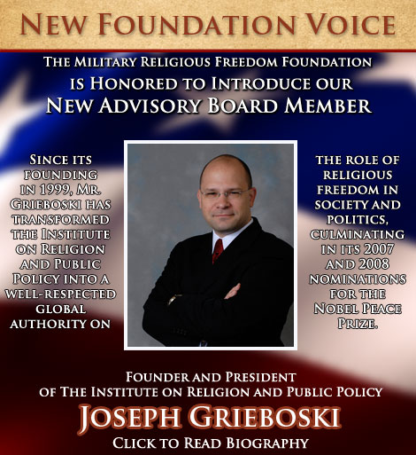 New Foundation Voice Joseph Grieboski