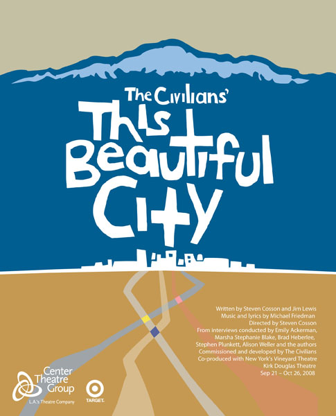 The Beautiful City Poster