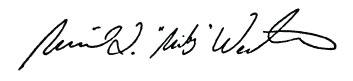 Mikey Weinstein signature
