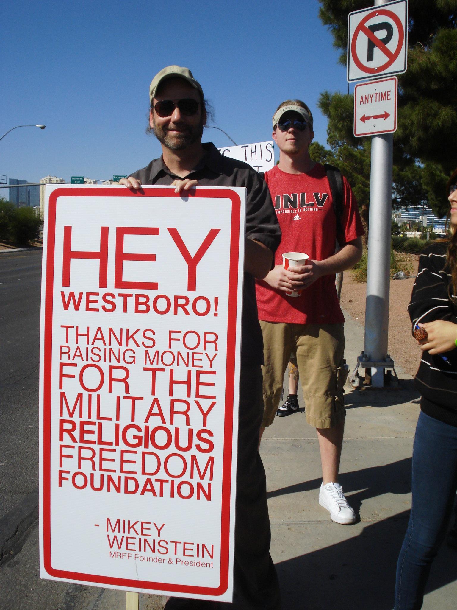 SECULAR STUDENT ALLIANCE @ UNLV – SSA/MRFF vs. Westboro ...