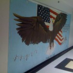 """Praise the Lord"" Mural at USAFA"