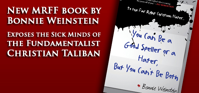 "A shocking insight into the sick minds of the fundamentalist Christian ""American Taliban,"" featuring original artwork and previously-unreleased material."