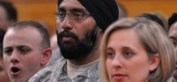 """The Army's ROTC program is undergoing a """"holistic review"""" after MRFF blasted the service for advertising a Christian-only officer position at an Illinois college and a 19-year-old Sikh student at a different school filed a lawsuit when he was denied entry over grooming standards."""