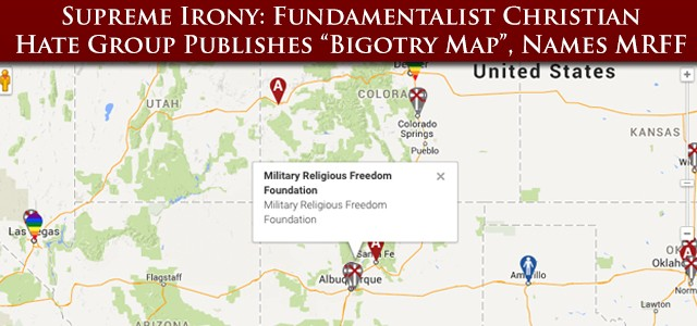 """MRFF NOTE: the Southern Poverty Law Center has characterized the American Family Association as not only a domestic hate group, but one of the """"chief purveyors of lies about LGBT people"""" that result in trauma, hate crimes, and a tragic epidemic of teen suicides."""