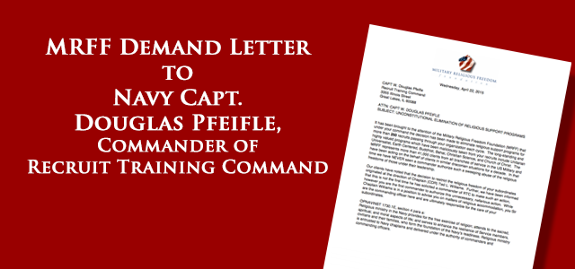 """John Chantry, a practicing Druid, was shocked to receive an email April 3 advising him that he was prohibited from continuing to lead earth-centered religious services for recruits at Recruit Training Command."""