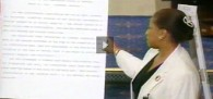 """""""On July 22, 1993, an impassioned Carol Moseley-Braun of Illinois—the first African-American..."""""""