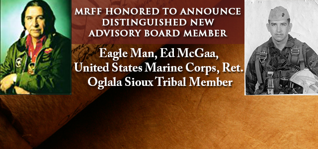 Captain McGaa (USMC, Ret.), is an enrolled Oglala Sioux tribal member, OST 15287. After serving in Korea, he earned an undergraduate degree from St. Johns University, MN...