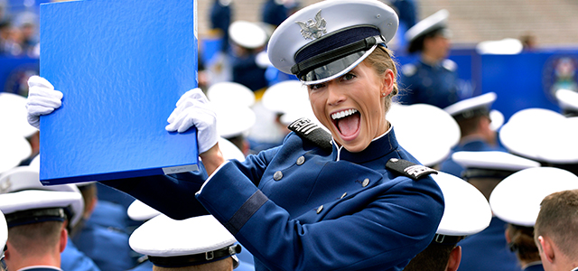 """Mikey Weinstein, the crusader against religious bias in the armed forces, will ask the Air Force Academy to remove the words """"in the year of our Lord"""" from diplomas for the class of 2016, which graduates in May, he tells the Independent."""