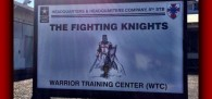 """A Christian Crusader Knight adorning the sign of an Army training center in Hawaii is fuel for jihadists' who paint American military missions in the Middle East"""