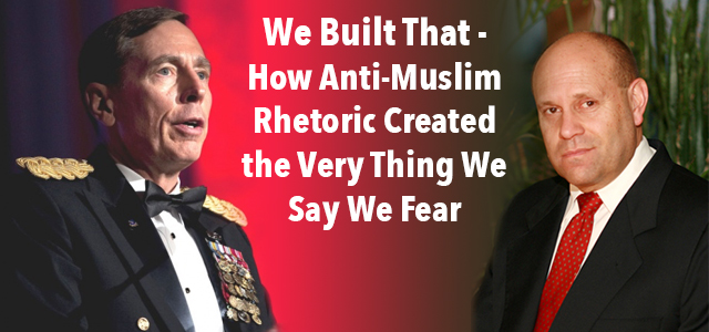 A recent article by retired U.S. Army General and former CIA director David Petraeus published over onStars and Stripeshits the proverbial nail on the head when it comes to the absolute immorality of anti-Muslim rhetoric in our Armed Forces and on American soil - not to mention the inadvisability[...]