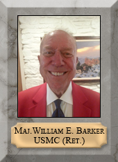 Major William E. Barker, USMC (Ret.)