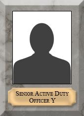 Senior Active Duty Officer Y