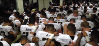 """The top general at the U.S. Military Academy said Army's head football coach """"crossed the line"""" with a post-game locker room prayer and admitted..."""