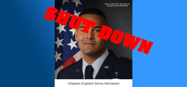 """""""...There is no such thing as transgenderism"""" ~USAF Chaplain Sonny Hernandez  HuffPo featured op-ed by MRFF's senior research director Chris Rodda shuts down hypocrite Hernandez!"""