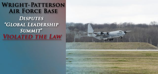 """NEW articles on Military.com & Dayton Daily News, highlight MRFF's recent FOIA request and struggle against Wright-Patterson AFB's Unconstitutional """"Global Research Summit."""""""