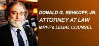 Rochester-based lawyer Donald Rehkpopf Jr. has received a...