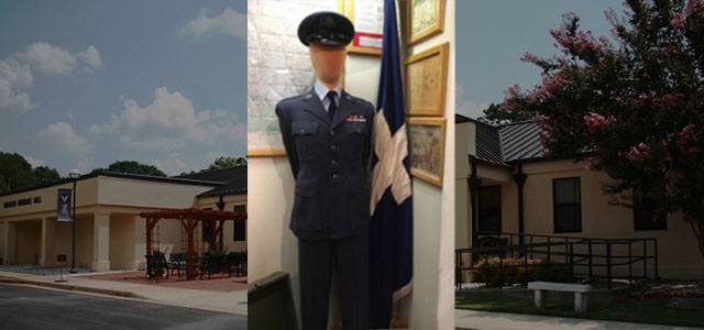 A faceless mannequin dressed as an airman standing next to a Christian chaplain flag at the Air Force Enlisted Heritage Research Institute at Maxwell Air Force Base has caused concern with an organization that focuses on military members and religious freedom...