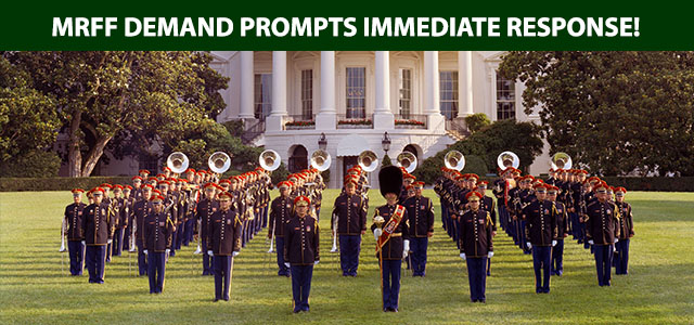 Following MRFF Demand, Army Opens Review Into Unconstitutional Appearance of U.A. Army Band at Mormon Temple Concert...