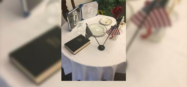 "Stars and Stripes covers MRFF in second article, ""Navy investigates after Bible was included in Okinawa POW/MIA display."""