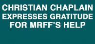 A senior active duty Christian Military Chaplain contacted MRFF President/Founder Mikey Weinstein for assistance...