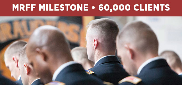 HUGE milestone for the Military Religious Freedom Foundation! MRFF Board and Advisory Board Members Send Statements on MRFF's 60,000 Client Milestone. Click to read more!