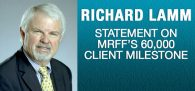 "Three-Term Colorado Governor & MRFF Advisory Board Member Dick Lamm says MRFF is ""an indispensable defender[...]"""