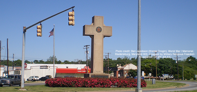 """... A memorial Cross is not a generic symbol of death; it is a Christian symbol of death that signifies or memorializes the death of a Christian..."" Click to read more."