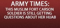 """A Fort Carson, Colorado, brigade commander has found no issue with the way a command sergeant major attempted to enforce hair regulations with a Muslim soldier earlier this month, according to a Friday statement to Army Times. Now her attorney is considering filing a federal lawsuit."""