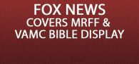 """""""A Bible at the center of a Manchester VA Medical Center display has been targeted by an outside group for being 'intolerable' and 'unconstitut..."""