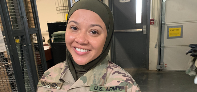 """""""Unless this CSM [...] enjoys the extraordinary powers of X-ray vision, it would have been impossible for this CSM to have even seen the hair of our MRFF client,"""" (Photo credit Military Religious Freedom Foundation)"""