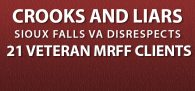 """""""The VA hospital in Sioux Falls, South Dakota has a serious problem. Not with health-care—they're one of the best in the nation—but with the US Constit...."""