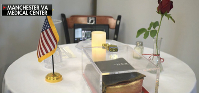 FOX & Friends Segment Features MRFF's Federal Lawsuit Demanding Bible Removal On POW/MIA Table at Manchester, NH VA Medical Center (VAMC). Click to read more.