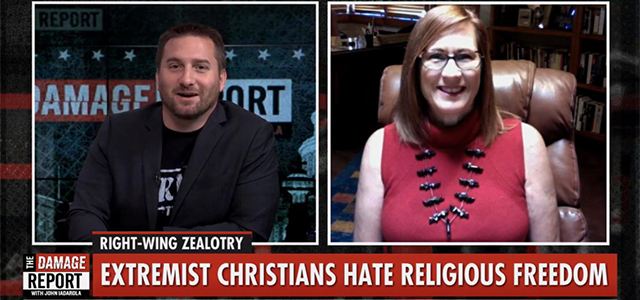 """""""Bonnie's book, a collection of hatemail to the Military Religious Freedom Foundation & its responses, is horrifying, & sometimes horrifyingly funny."""" Click to read more."""