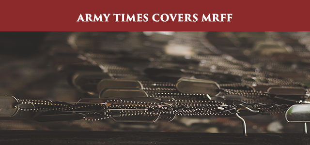 """A private company says it's fighting a directive from the Army Trademark Licensing Program to halt sales of replica dog tags stamped with the service's emblems alongside biblical scripture."" Click to Read."