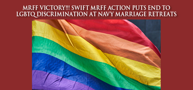 """""""Five Years After Same-Sex Marriage was Legalized, LGBTQ Military Members Must Still Fight For Equal Rights…""""  Click Image to Read"""