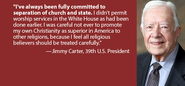 """""""Former President Jimmy Carter has been called American's most famous Sunday..."""" Click Image to Read"""