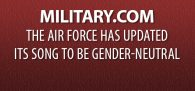 """""""The U.S. Air Force is changing its song to be gender-neutral as the service grows more diverse and adds more women across its ranks. Chief of Staff Gen. David Goldfein made the..."""" Click image to read"""
