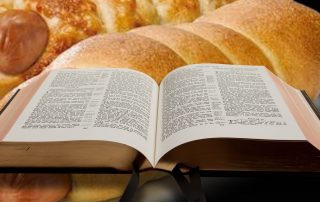 Bagel dogs and Christian Bible
