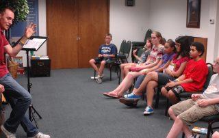 Club Beyond leader speaks to teens at Nellis Air Force Base